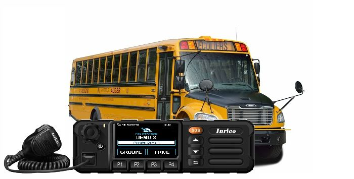 Inrico mobile for yours school bus